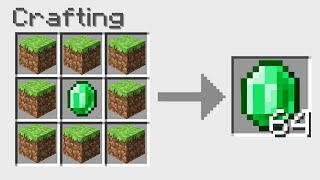 7 Crafting GLITCHES That Break Minecraft!