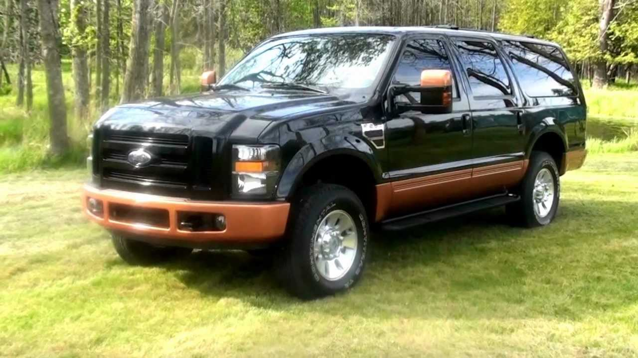 2008 Ford Excursion 6.4l Power Stroke - YouTube