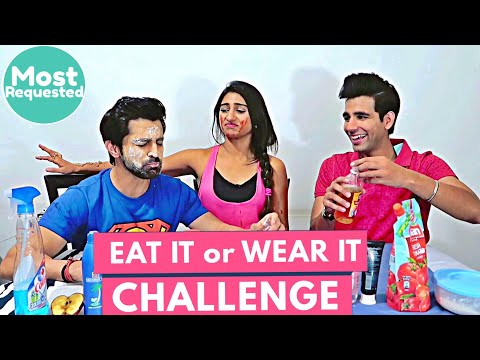 Eat it or Wear it Challenge | Rimorav Vlogs
