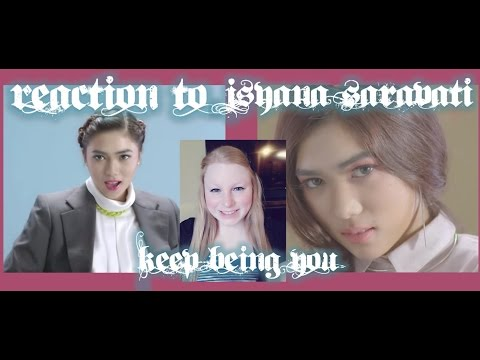 download lagu REACTION TO ISYANA SARAVATI KEEP BEING Y gratis