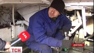 За лікування військової техніки взялися українські танкісти - (видео)