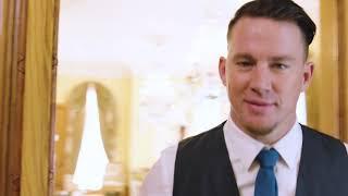 Channing Tatum teaches the Magic Mike Live London boys British etiquette