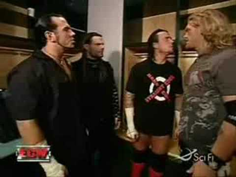 Hardyz CM PUNK & EDGE Backstage ECW Music Videos