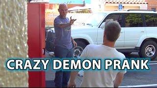 Creepy DEMON PRANK! Epic Magic Scare Trick!