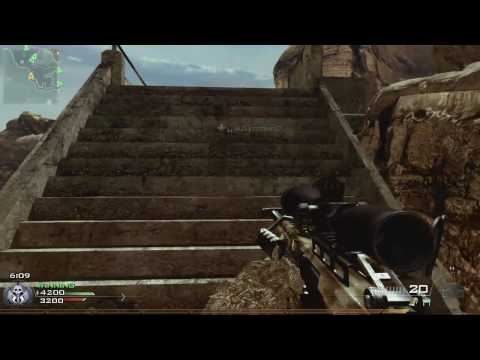 Modern Warfare 2 Daily Gameplay 1# (TDM  on Afghan Barrett 50 Cal + FMJ w/ AA-12 Extended Mags)