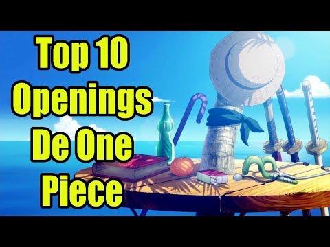 Los 10 Mejores Openings De One Piece| Top 10