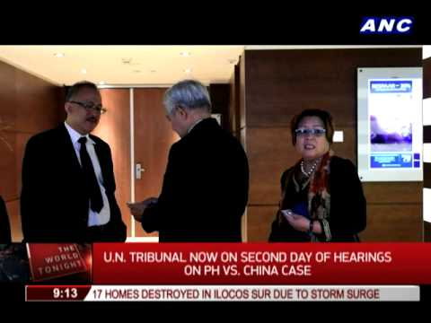 Foreign observers watch PH case vs China in UN tribunal