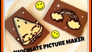 Chocolate Picture Maker (DIY Shopkins chocolate bar)