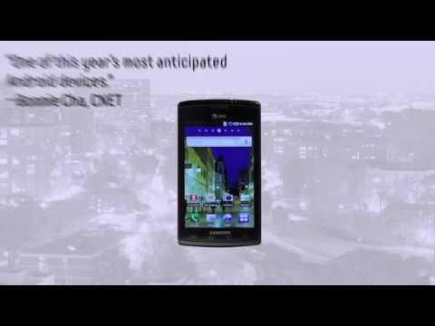 AT&T Samsung Captivate Preview - Galaxy S Phone