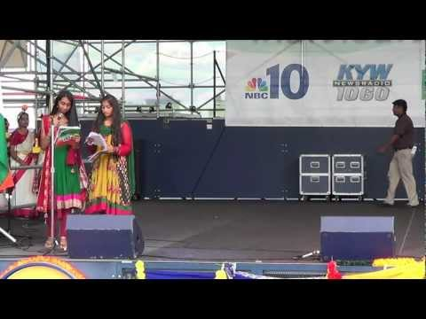 Dhaker Tale Dance At Penns Landing, Philadelphia video