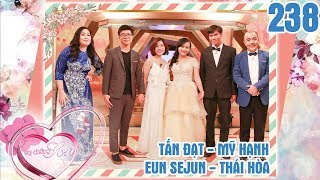 NEWLYWEDS| #238 UNCUT| Marrying KOREAN husband and the bride inveigles her husband into marriage