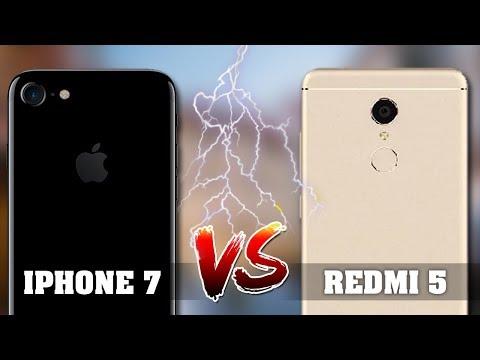 ШОК!!! Сравнение камер Xiaomi redmi 5 против Iphone 7
