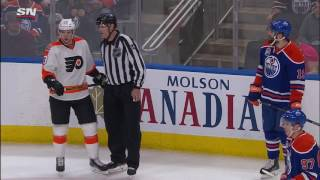 Maroon fights, then wrestles Manning's skull to the ice