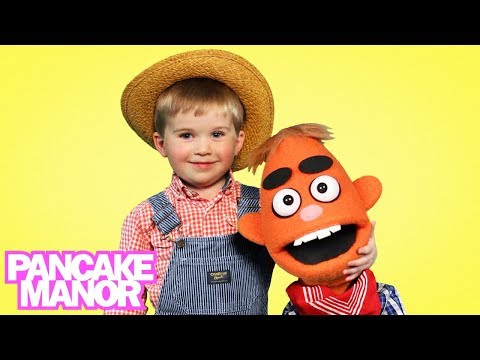 OLD MACDONALD HAD A FARM - Nursery Rhyme | Pancake Manor