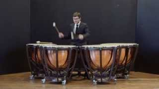Pierre MICHEL The first Daniel Martin international timpani competition