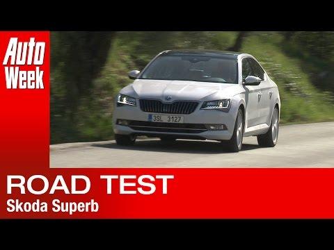 Skoda Superb [2015] road test