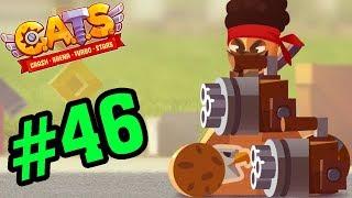 CATS: Crash Arena Turbo Stars #46 - Top 1 Với 2 Súng 6 Nòng - Mèo Con Đại Chiến Game Mobile