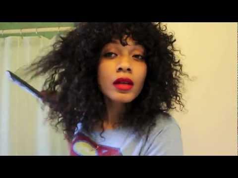 How I Style My Curly Hair (Desir Hair)