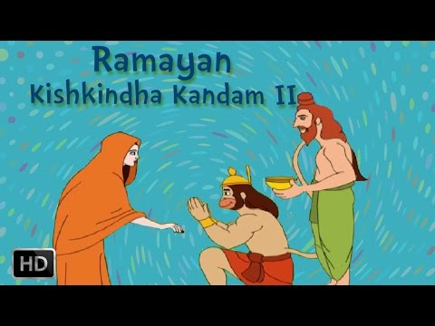 Ramayan Full Movie - Kishkindha Kandam (part - 2) - Killing Of Valli - Animated Stories For Children video