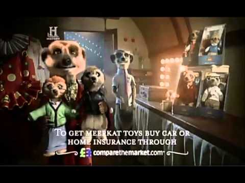 all the meerkat adverts