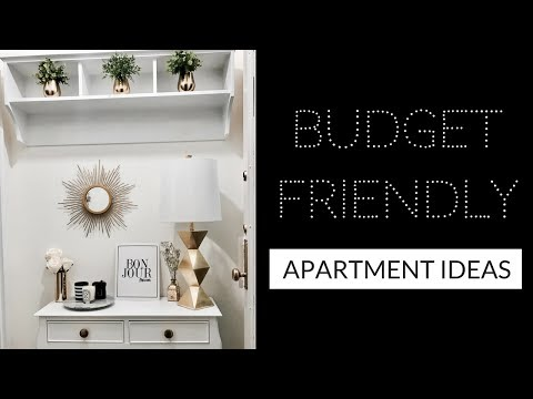 HOW TO MAKE YOUR APARTMENT LOOK EXPENSIVE (On a Budget!) - APARTMENT DIY IDEAS