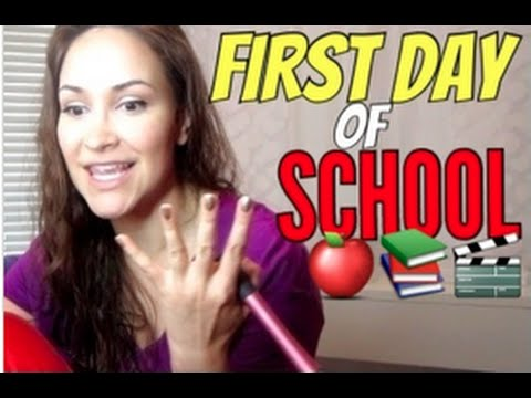VLOGust: First Day of School