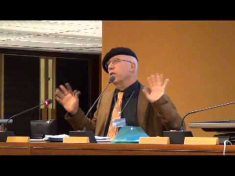 Chris Busby at the United Nations Geneva: US Marshall Islands Atomic tests
