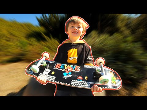 Walker Builds His New Setup & Goes Skating!!!