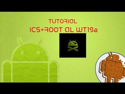 Tutorial ICS+ROOT Sony ericsson live WT19a