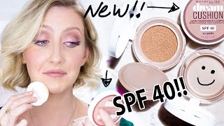 HOLY GRAIL FOR OILY SKIN? Maybelline Dream Cushion SPF40 Foundation Review | Sharon Farrell