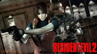 Resident Evil 2 Remake HD | Claire - Gameplay
