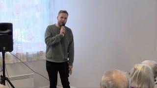 Standup på gamlehjem - Jon Martin Henriksen
