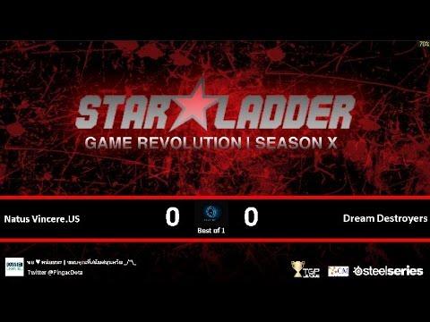 Dota2 - Natus Vincere.US vs Dream Destroyers [SLTV-X] Caster Pingac