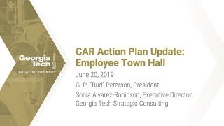 Town Hall: Comprehensive Administrative Review