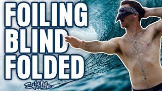 I Tried Foiling BLINDFOLDED | Salt Life