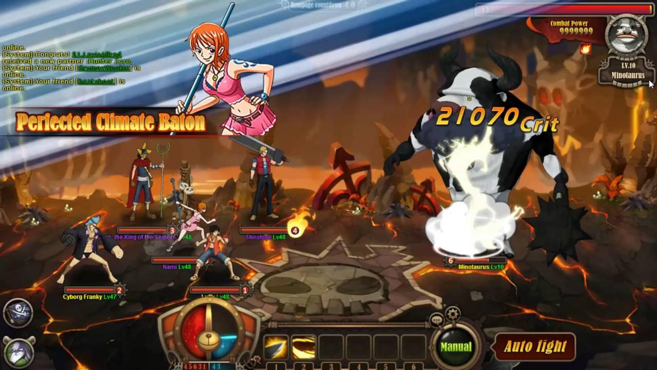 One Piece Ultimate War Minotaurus World Event Youtube