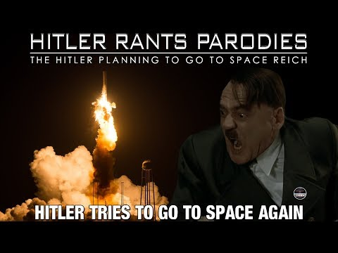 Hitler tries to go to space again