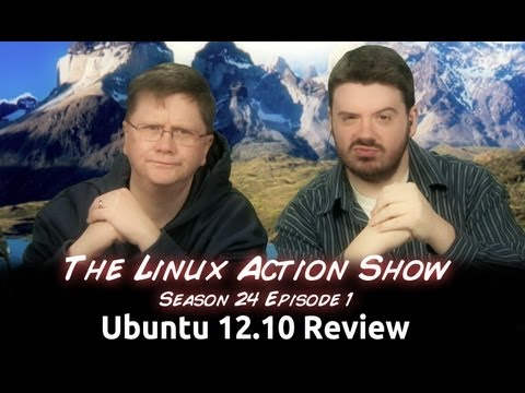 Ubuntu 12.10 Review   Linux Action Show!
