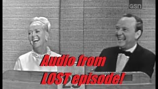 What's My Line? - LOST EPISODE AUDIO CLIP!!! Betty Grable (Jun 18, 1967)