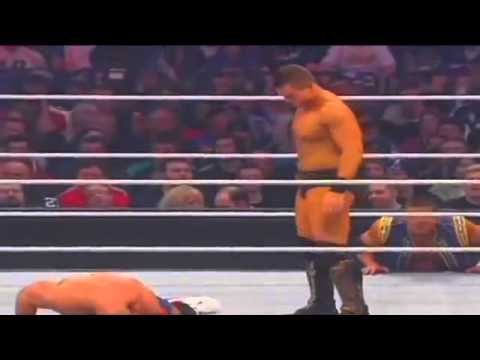 John Cena Vs The Miz Wrestlemania 27 Wwe Championship video