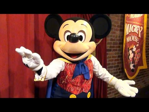 Talking Mickey Mouse Sings Happy Birthday To You - Magic Kingdom, Walt Disney World