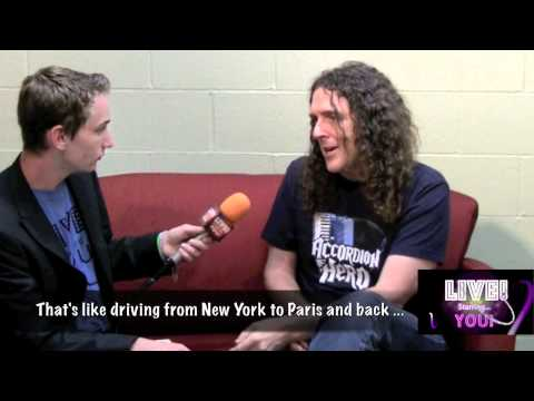 Weird Al Yankovic on his 'man cave' and more!