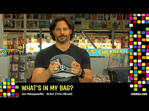 Joe Manganiello - What's In My Bag?