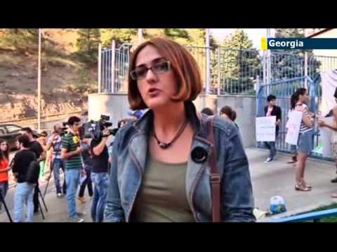 Georgian feminists slam