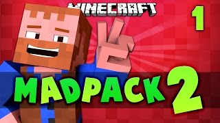 Minecraft: Madpack2 | A Quest for glory #1