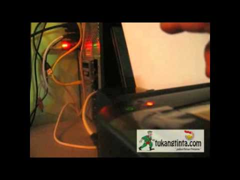 Video Cara Reset Indikator Tinta Epson Series L110. L210. L300.L350.L355 by TukangTinta