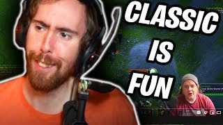 "Asmongold Reactions ""Why has Classic been so fun for me?"" by Preach Gaming"