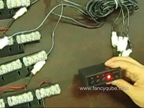 12*3 LED Car Truck Flashing Strobe Lights BulbS
