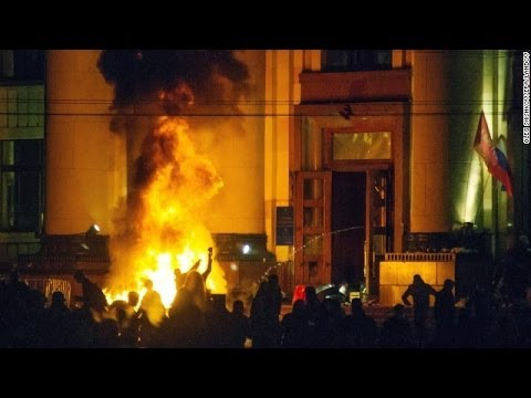 Dozens killed in building fire in Ukraine's Odessa after clashes | Ukraine Crisis