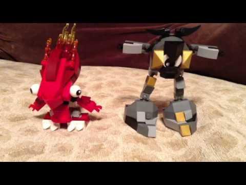 Mixels Flain Lego Mixels:flain And Seismo
